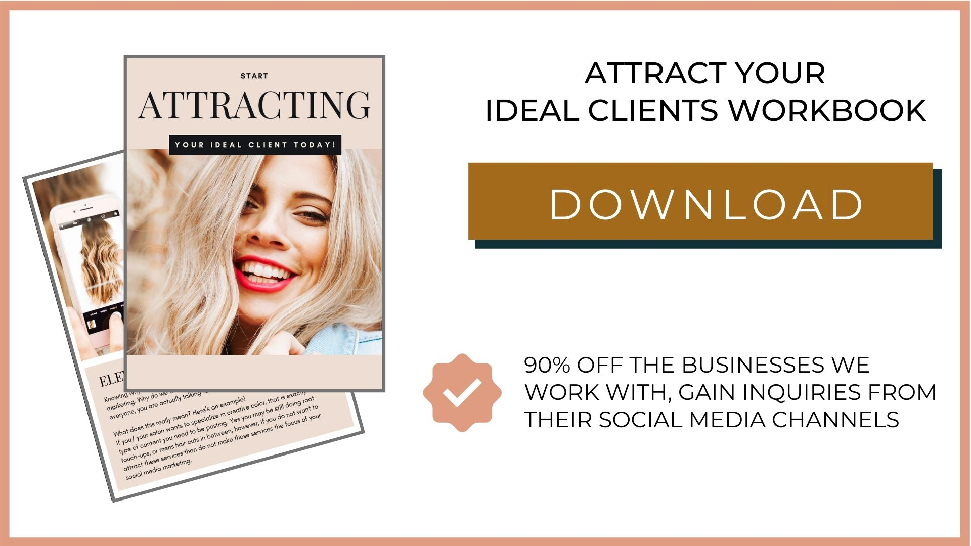 Free Attract Your Ideal Client Workbook